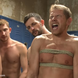 Alex Adams in 'Kink Men' Loudmouth Gym Freak Fucked and Pissed on in Boxing Gym Locker Room (Thumbnail 17)