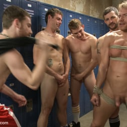 Alex Adams in 'Kink Men' Loudmouth Gym Freak Fucked and Pissed on in Boxing Gym Locker Room (Thumbnail 18)