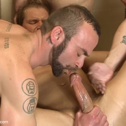 Alex Adams in 'Kink Men' Loudmouth Gym Freak Fucked and Pissed on in Boxing Gym Locker Room (Thumbnail 24)