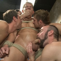 Alex Adams in 'Kink Men' Loudmouth Gym Freak Fucked and Pissed on in Boxing Gym Locker Room (Thumbnail 26)