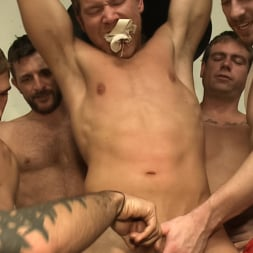 Alex Adams in 'Kink Men' Loudmouth muscle-head gets taken down and gang fucked at a boxing gym (Thumbnail 2)