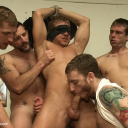 Alex Adams in 'Kink Men' Loudmouth muscle-head gets taken down and gang fucked at a boxing gym (Thumbnail 10)