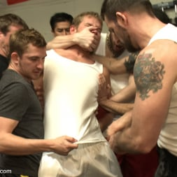 Alex Adams in 'Kink Men' Loudmouth muscle-head gets taken down and gang fucked at a boxing gym (Thumbnail 22)
