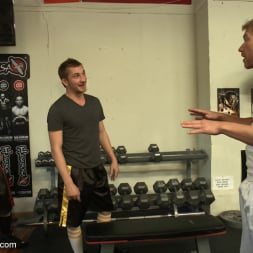 Alex Adams in 'Kink Men' Loudmouth muscle-head gets taken down and gang fucked at a boxing gym (Thumbnail 23)