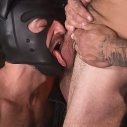 Alpha Wolfe in 'Kink Men' In The Doghouse: Alpha Wolfe Stretches Pup Riley Landon's Hole (Thumbnail 7)