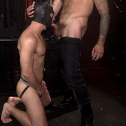 Alpha Wolfe in 'Kink Men' In The Doghouse: Alpha Wolfe Stretches Pup Riley Landon's Hole (Thumbnail 8)
