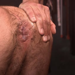 Alpha Wolfe in 'Kink Men' In The Doghouse: Alpha Wolfe Stretches Pup Riley Landon's Hole (Thumbnail 16)