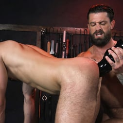Alpha Wolfe in 'Kink Men' In The Doghouse: Alpha Wolfe Stretches Pup Riley Landon's Hole (Thumbnail 17)