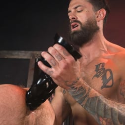 Alpha Wolfe in 'Kink Men' In The Doghouse: Alpha Wolfe Stretches Pup Riley Landon's Hole (Thumbnail 18)