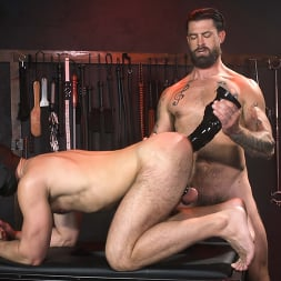 Alpha Wolfe in 'Kink Men' In The Doghouse: Alpha Wolfe Stretches Pup Riley Landon's Hole (Thumbnail 19)