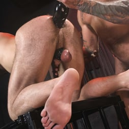 Alpha Wolfe in 'Kink Men' In The Doghouse: Alpha Wolfe Stretches Pup Riley Landon's Hole (Thumbnail 21)