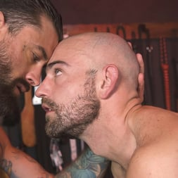 Alpha Wolfe in 'Kink Men' In The Doghouse: Alpha Wolfe Stretches Pup Riley Landon's Hole (Thumbnail 23)