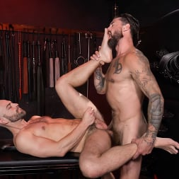 Alpha Wolfe in 'Kink Men' In The Doghouse: Alpha Wolfe Stretches Pup Riley Landon's Hole (Thumbnail 24)