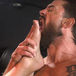 Alpha Wolfe in 'Kink Men' In The Doghouse: Alpha Wolfe Stretches Pup Riley Landon's Hole (Thumbnail 25)