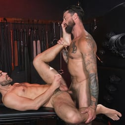 Alpha Wolfe in 'Kink Men' In The Doghouse: Alpha Wolfe Stretches Pup Riley Landon's Hole (Thumbnail 26)