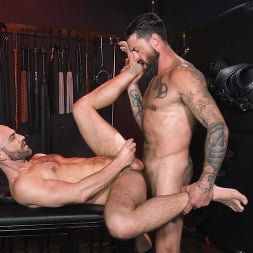 Alpha Wolfe in 'Kink Men' In The Doghouse: Alpha Wolfe Stretches Pup Riley Landon's Hole (Thumbnail 28)