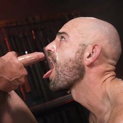 Alpha Wolfe in 'Kink Men' In The Doghouse: Alpha Wolfe Stretches Pup Riley Landon's Hole (Thumbnail 29)