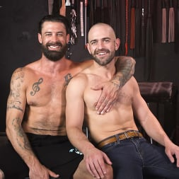 Alpha Wolfe in 'Kink Men' In The Doghouse: Alpha Wolfe Stretches Pup Riley Landon's Hole (Thumbnail 32)