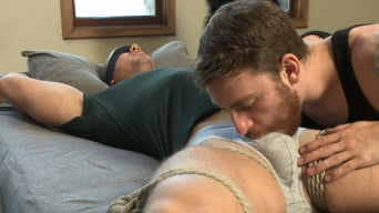 Beau Warner in 'Bodybuilder gets edged by a guy for the first time'