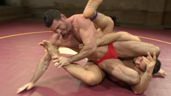 Billy Santoro in 'Naked Kombat's Summer Smackdown Tournament - Elimination Round 4'