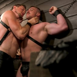 Blake Hunter in 'Kink Men' Beefcakes Pierce Paris and Blake Hunter Battle for Dominance! (Thumbnail 5)