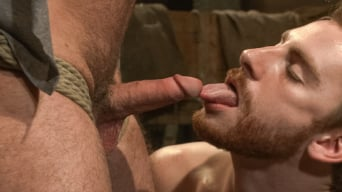 Brayden Forrester in 'Hairy Muscle Hunk Has His Cock Edged By Two Farmers'