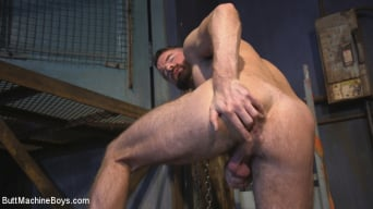Brendan Patrick in 'Irish hunk submits to the Ass Master and his perverted desires'