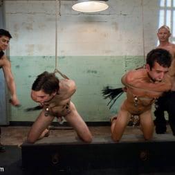 Brenn Wyson in 'Kink Men' slyman vs deap - Live Shoot (Thumbnail 16)
