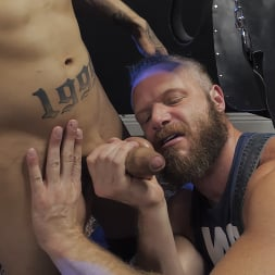 Brian Bonds in 'Kink Men' Hot Hole: Brian Bonds Devours Daniel Hausser's Ass RAW (Thumbnail 7)