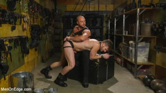 Brian Bonds in 'Muscled House Slave Begs to Cum In Bondage'
