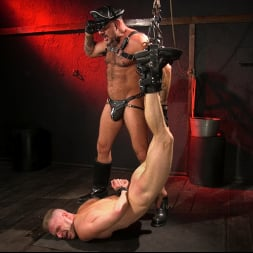 Brian Bonds in 'Kink Men' Pig Whore: Brian Bonds gets beat and worships Daddy Dyer's boots, feet (Thumbnail 8)