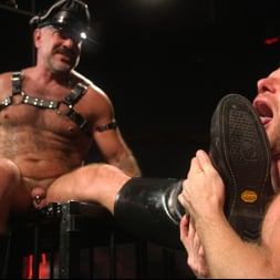 Brian Bonds in 'Kink Men' Pig Whore: Brian Bonds gets beat and worships Daddy Dyer's boots, feet (Thumbnail 11)