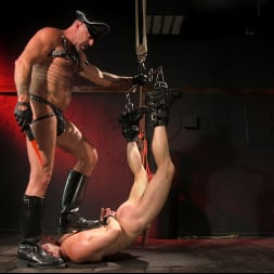 Brian Bonds in 'Kink Men' Pig Whore: Brian Bonds gets beat and worships Daddy Dyer's boots, feet (Thumbnail 12)