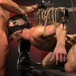 Brian Bonds in 'Kink Men' Pig Whore: Brian Bonds gets beat and worships Daddy Dyer's boots, feet (Thumbnail 17)