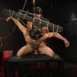 Brian Bonds in 'Kink Men' Pig Whore: Brian Bonds gets beat and worships Daddy Dyer's boots, feet (Thumbnail 19)
