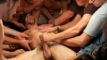 Bryan Cole in 'Tickle Torment A Ripped Stud in a Public Bar'