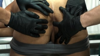 Carter West in 'is medically examined and edged by two perverts'