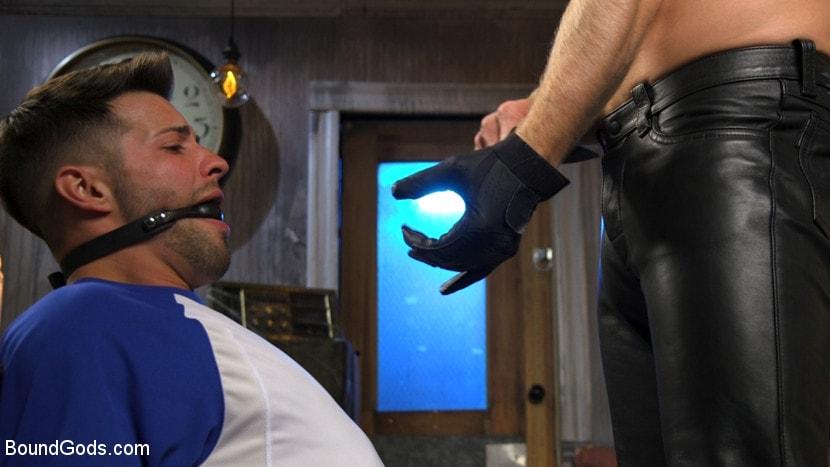 Kink Men 'Extra Innings: Casey Everett Abducted and Fucked by Logan Stevens' starring Casey Everett (Photo 2)