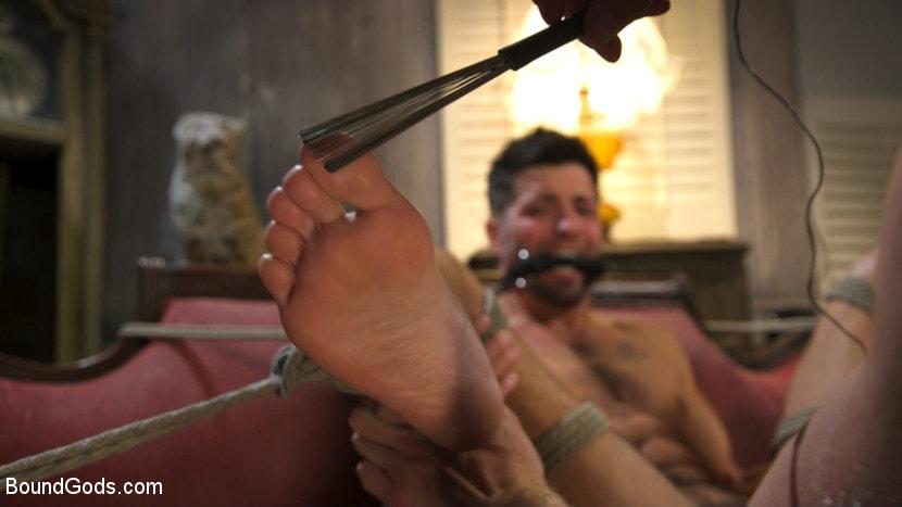Kink Men 'Extra Innings: Casey Everett Abducted and Fucked by Logan Stevens' starring Casey Everett (Photo 27)