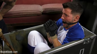 Casey Everett in 'Extra Innings: Casey Everett Abducted and Fucked by Logan Stevens'