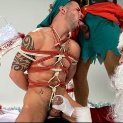 Casey Everett in 'Kink Men' Impish Little Elves: Casey Everett Edged by Santa and his Lil Helper (Thumbnail 17)