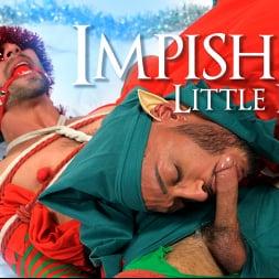 Casey Everett in 'Kink Men' Impish Little Elves: Casey Everett Edged by Santa and his Lil Helper (Thumbnail 21)