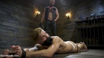 Casey Everett in 'Master Samson Brutally Trains Clean Cut Jock Casey Everett'