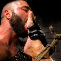 Casey Everett in 'Kink Men' My God Sharok: Casey Everett Worships New Leather-Clad Master (Thumbnail 3)