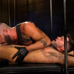Casey Everett in 'Kink Men' My God Sharok: Casey Everett Worships New Leather-Clad Master (Thumbnail 4)