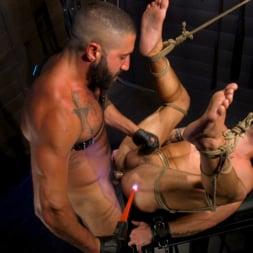 Casey Everett in 'Kink Men' My God Sharok: Casey Everett Worships New Leather-Clad Master (Thumbnail 11)
