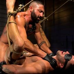 Casey Everett in 'Kink Men' My God Sharok: Casey Everett Worships New Leather-Clad Master (Thumbnail 19)
