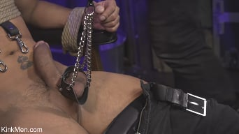 Cesar Xes in 'Isaac X and Cesar Xes: Interrogation XXX RAW'