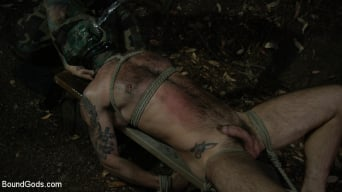 Chris Harder in 'Wild Country: Hiker is Kidnapped, Bound, Fucked by Woods Survivalist'