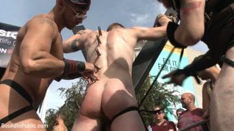 Christian Wilde in 'Cass Bolton's Folsom Street Fair Orgy Continues!'